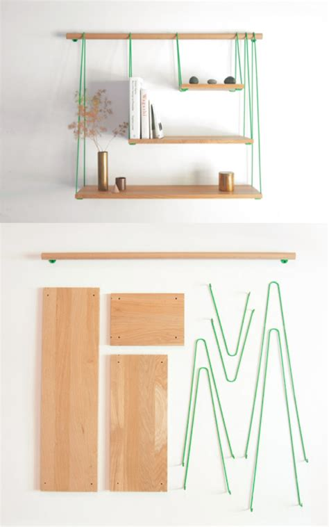 Regal Diy by 31 Diy Hanging Shelves For Every Room In Your Home