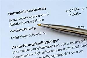 Effektiven Zinssatz Berechnen : g nstige kredite vergleichen die 9 wichtigsten kriterien ~ Themetempest.com Abrechnung