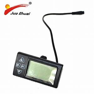 Electric Bicycle Lcd Displayer For 36v Electric Bike