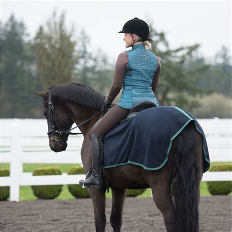 vest ladies irideon fairfield quilted riding apparel english clothes vests horseloverz regular equestriancollections