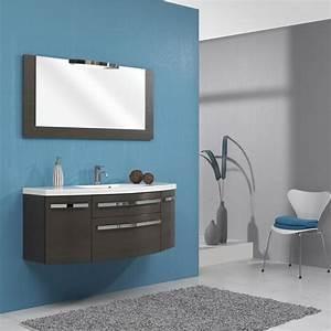 idee dec salle de bain With salle de bain bleu gris