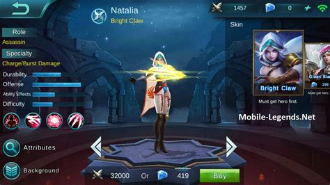 Natalia High Damage Build 2018