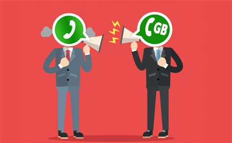 gbwhatsapp or whatsapp the choice is yours