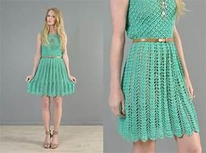 1289 Best Images About Vestidos Crochet L On Pinterest