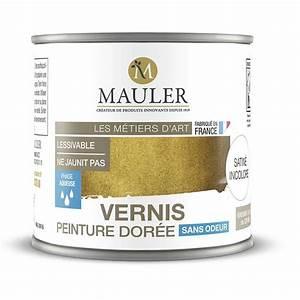 vernis pour peinture doree effet dorure sans odeur mauler With peinture vernis pour bois