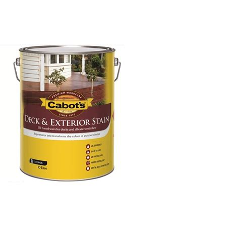 cabots deck stain bunnings cabot s 10l kwila based deck and exterior stain