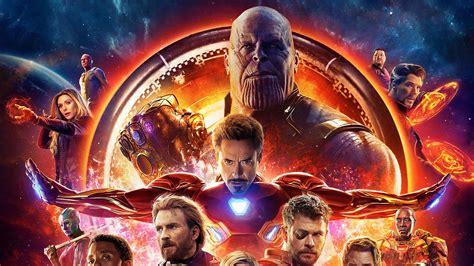 avengers infinity war   poster laptop full