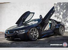 A Gorgeous BMW i8 Gets A Set of HRE P101 Wheels