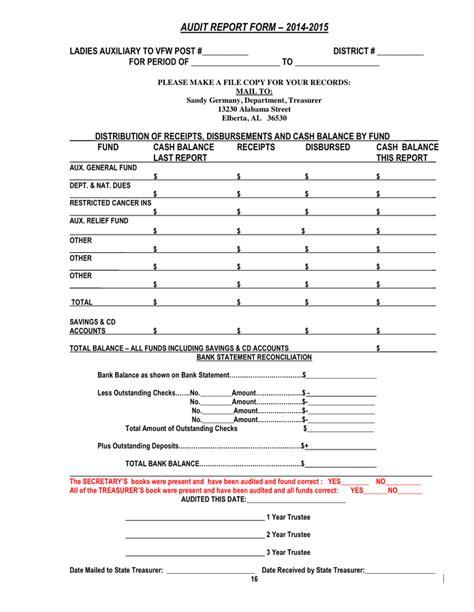 audit report template 37 brilliant audit report format exles thogati