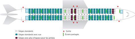 siege avion air sélection de sièges allée ou hublot réservez d 39 avance