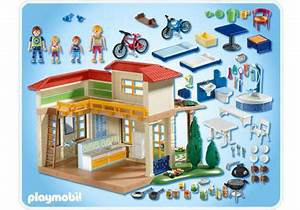 summer house 4857 a playmobil With modele plan de maison 3 notice de montage playmobil 5303 maison traditionnelle