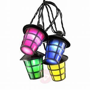 Lampions Mit Led : au en lichterkette lampion 20 led laternen bunt kaufen ~ Watch28wear.com Haus und Dekorationen