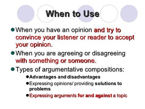 Writing Argumentative Thesis by Argumentative Essay