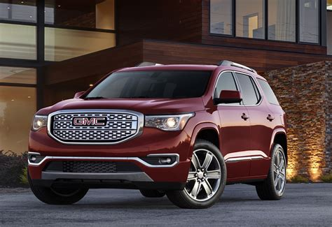 gmc acadia trims   gm plans   product