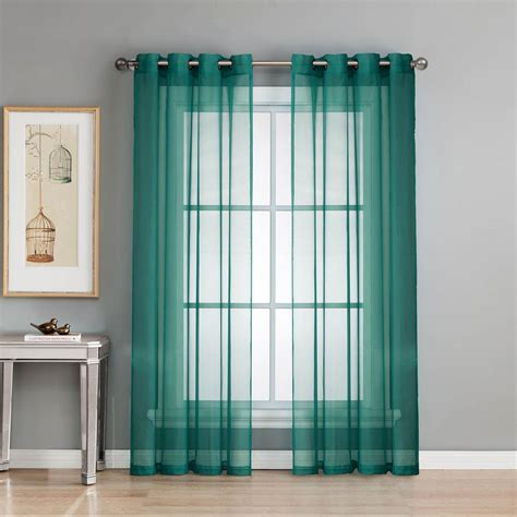 84 sheer curtain panels impressive sheer white curtains target amazoncom elegant comfort voile