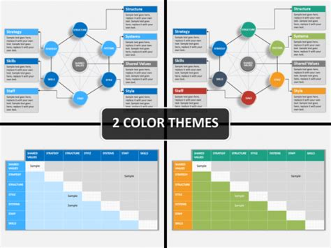 mckinsey  model powerpoint template sketchbubble