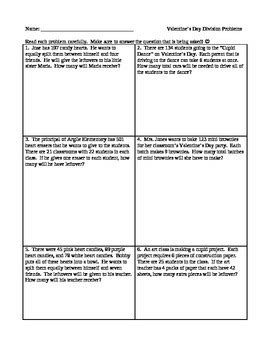 s day division word problems interpret the remainder 4th grade