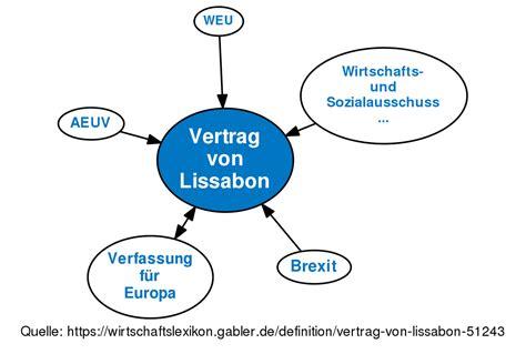 vertrag von lissabon definition im gabler