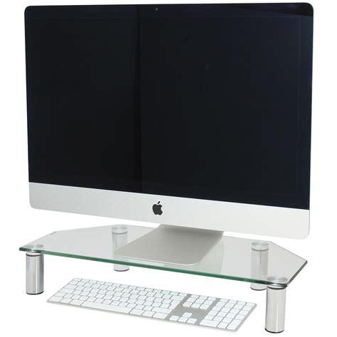 mensola per pc hartleys monitor di angolo schermo tv saliscendi mensola
