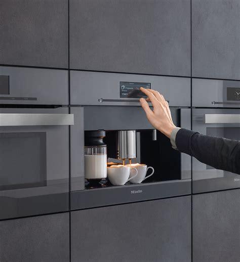 miele built in pureline plumbed coffee system cva6805 graphite grey appliances hans krug