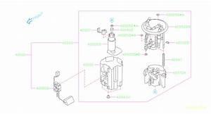 2006 Subaru Outback Pump Fuel  Tank  System  Maintenance