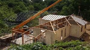 Maison En Bois Construction : construction maison bois en 1 mois youtube ~ Melissatoandfro.com Idées de Décoration