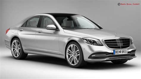 Mercedes S Class 2018 3d Model  Buy Mercedes S Class 2018