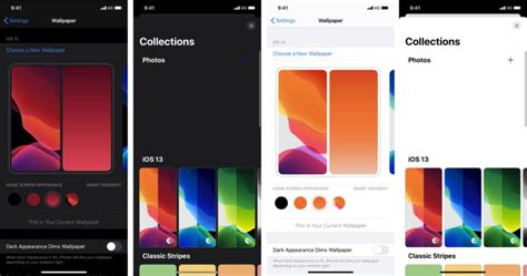 ios   bring  wallpaper settings home screen widgets