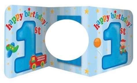 cadre chambre bébé garçon montage photo anniversaire 1 an garçon pixiz