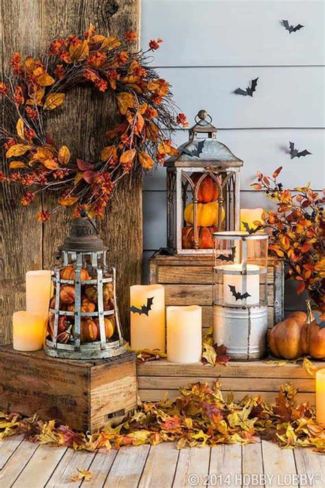 decorative ideas 25 most beautiful ways to decorate for fall with lanterns