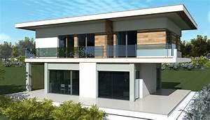 Plan Maison Contemporaine Toit Plat : cuisine plan maison contemporaine is m plan maison moderne gratuit toit plat plan maison ~ Nature-et-papiers.com Idées de Décoration