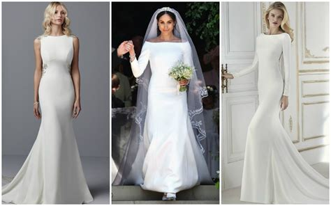 Markle Wedding Dress : Simple Wedding Dresses Inspired By Meghan Markle