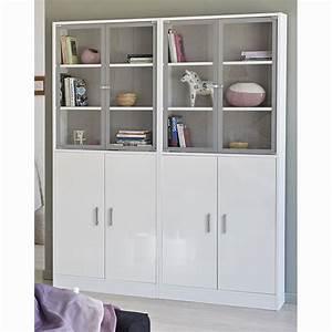 Regal Weiß Mit Türen : regal lion mit t ren wei b 158 cm regale raumteiler ~ Orissabook.com Haus und Dekorationen