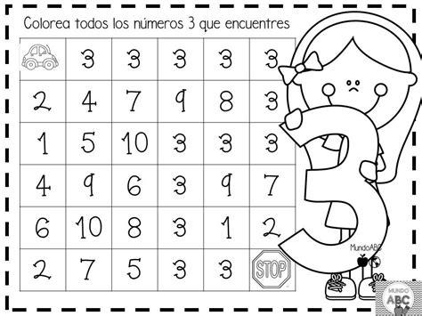 Geniales Actividades Para El Trazo De Los Números Del 1 Al