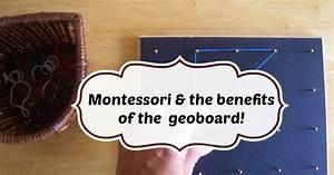 Montessori & the benefits of the geoboard!