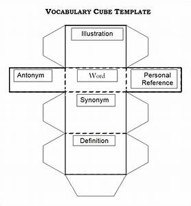 Cube Template Word Document Free 8 Sample Cube Templates In Ms Word Pdf