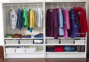 Kleiderschrank Ikea Kind : montessori wardrobe ikea hack mit bildern ikea kleiderschrank kinderkleiderschrank ikea ~ Watch28wear.com Haus und Dekorationen