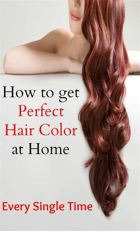 How To Get The Best Hair Color by At Home Hair Color Tips Get Results Like A Pro