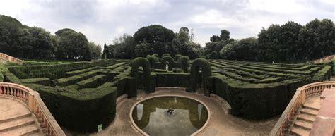 labyrinth park gimme  barcelona travel guide