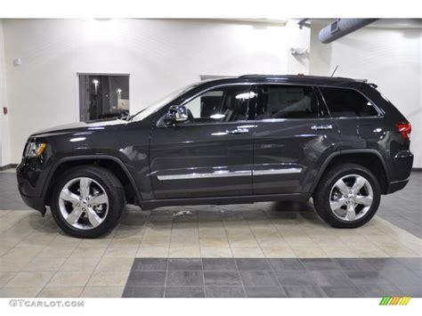 2011 Dark Charcoal Pearl Jeep Grand Cherokee Limited