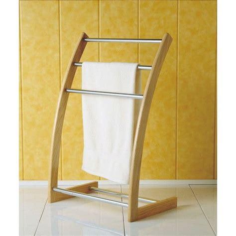 agr 233 able porte serviette sur pied inox 1 porte serviette salle de bain sur pied wasuk
