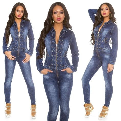 sleeve denim dress with belt 39 s lace up sleeve denim jumpsuit overall