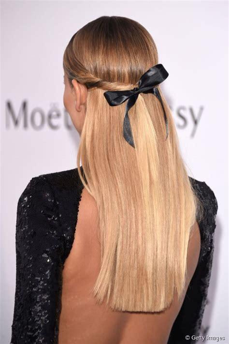 ribbon hair styles half up hairstyle ideas poly s ribbon bow