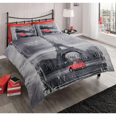 Eiffel Tower Bedding And Comforter Set by Modern Eiffel Tower King Size Duvet Cover Pillowcase