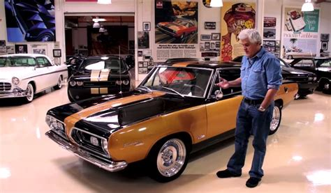 jay leno examines   school muscle    hurst