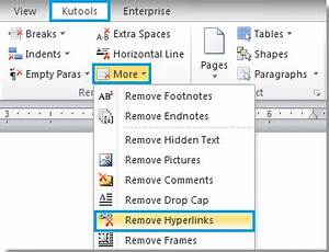 how to remove all hyperlinks in word With word documents hyperlinks
