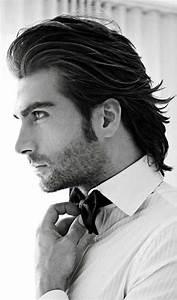 Cheveux En Arrière Homme : modele coupe cheveux mi long en arri re sur la nuque ~ Dallasstarsshop.com Idées de Décoration