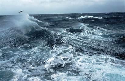Sea Seas Ocean Rough Stormy Background Storm