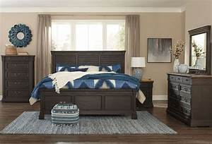 Tyler creek black louvered panel bedroom set from ashley for Bedroom furniture sets tyler tx