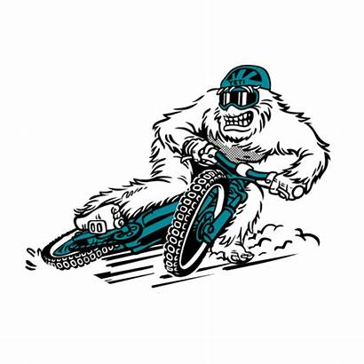 Yeti Cycles Sticker Mtb Giphy Tweet Yeticycles